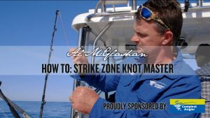 How to tie a Strike Zone Knot